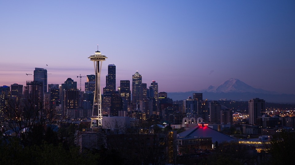 Seattle at Dusk - Pixabay