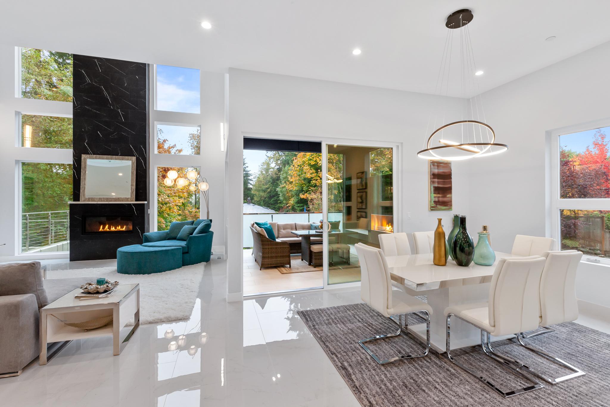 Main Floor Great Room - Luxury Real Estate - 18109 84th Ave W, Edmonds