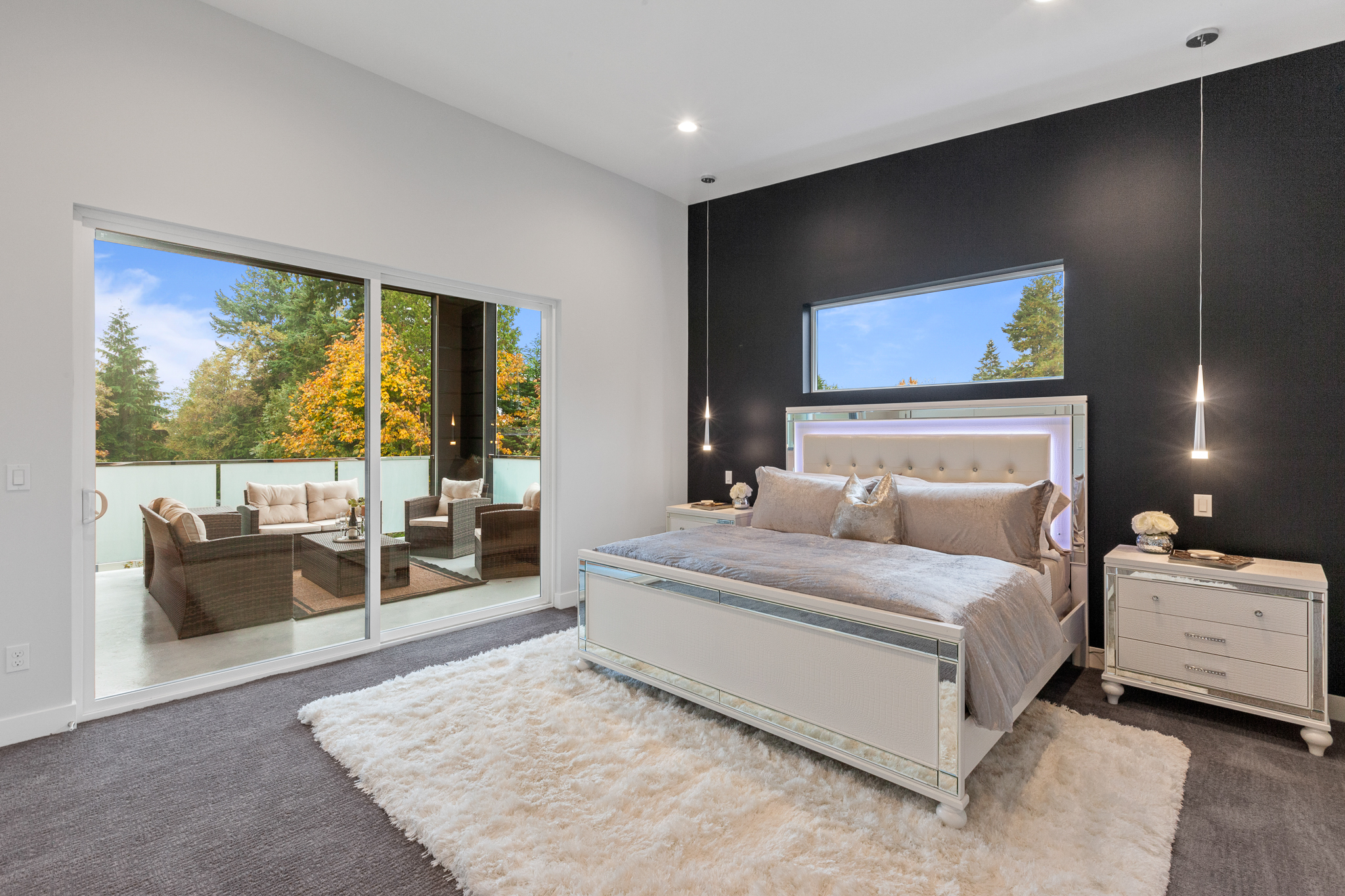 Master Bedroom - Luxury Real Estate - 18109 84th Ave W, Edmonds