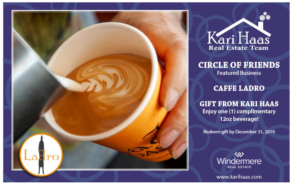 Caffe Ladro Postcard