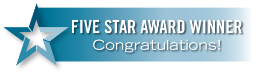 Five Star Real Estate Agent Congratulations Banner