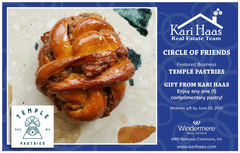 Temple Pastries COF Card