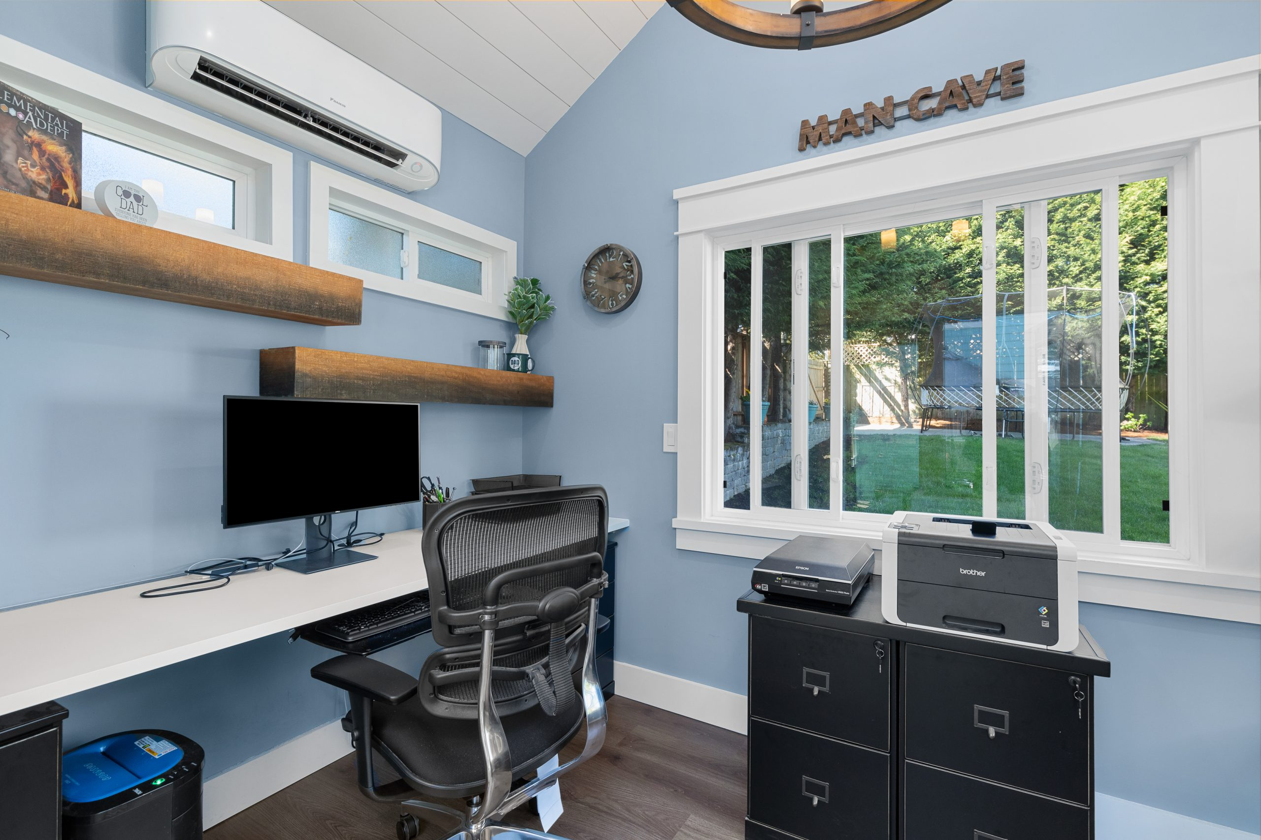 Home Office / Craft Room for Empty Nest