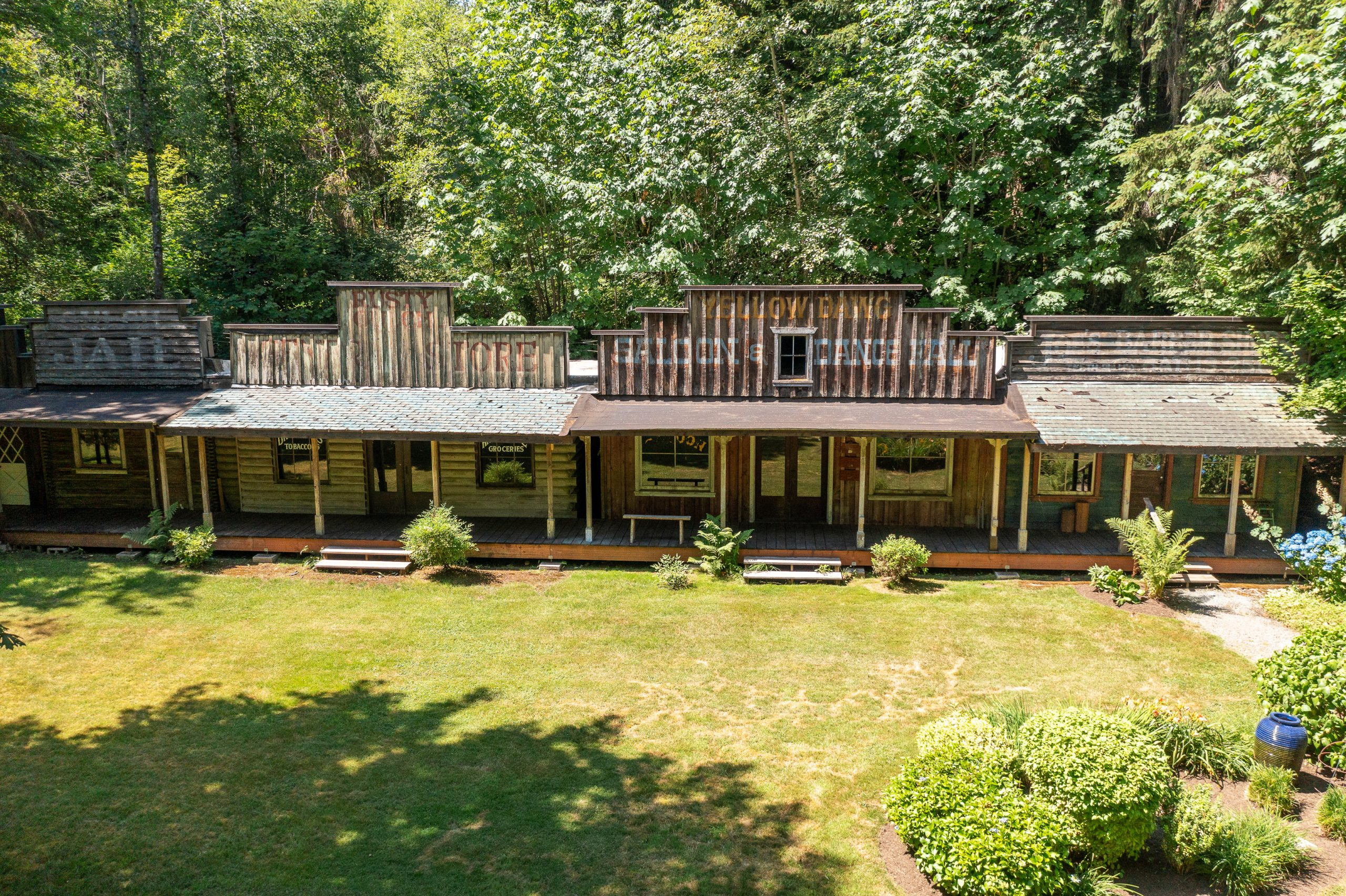 Woodinville Property Featuring Wild West Ghost Town